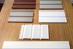 Kledning, kasse, listverk i PVC